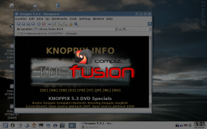 compiz fusion knoppix