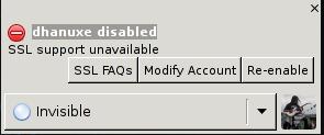 SSL Error pidgin